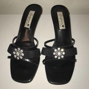 "Brighton ""Twyla"" open toe heels, NEW"